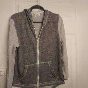 Havana zip-up hoodie, size large